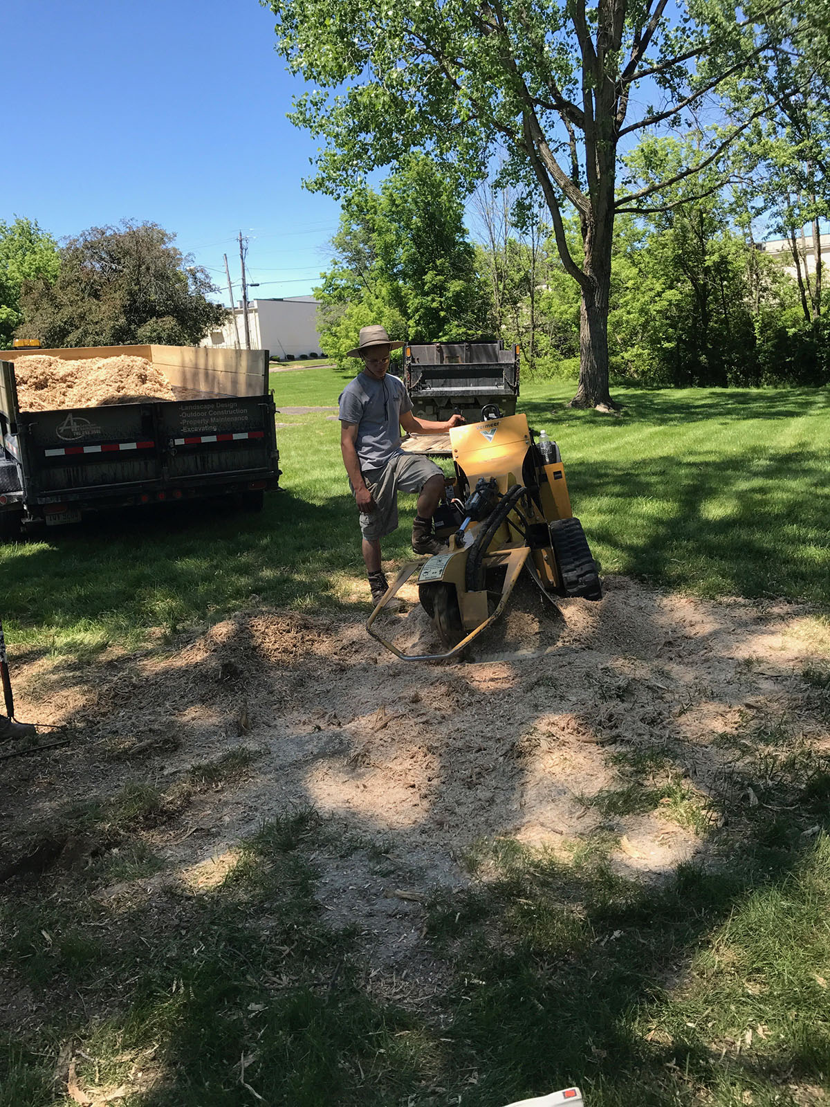 A Plus Lawn Pros Grass Seeding 1