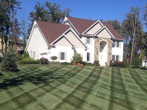 A plus Lawncare landscaping residential commercial mowing