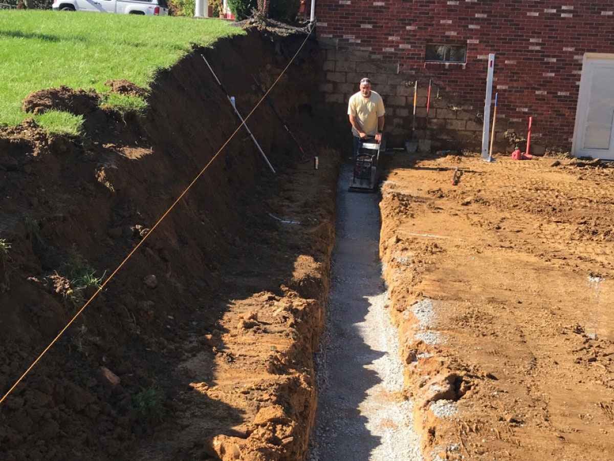 APlus Lawn Pros Retaining Wall Construction Zanesville Ohio 2