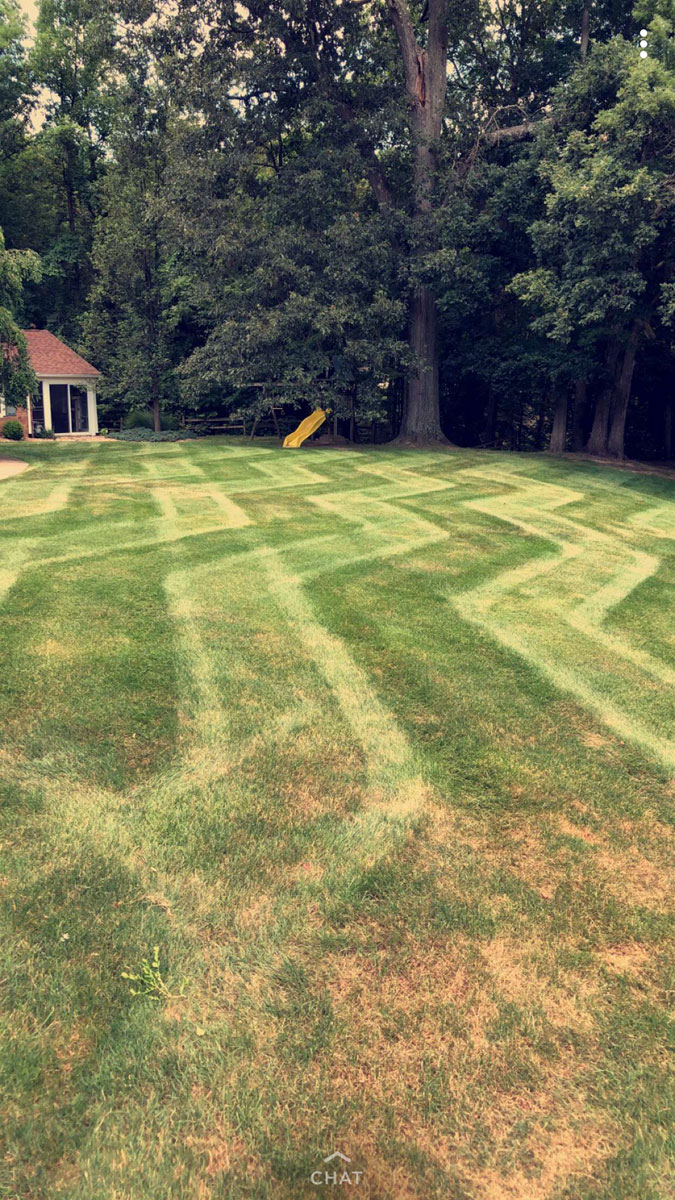 Aplus Lawn Pros Mowing Job 1