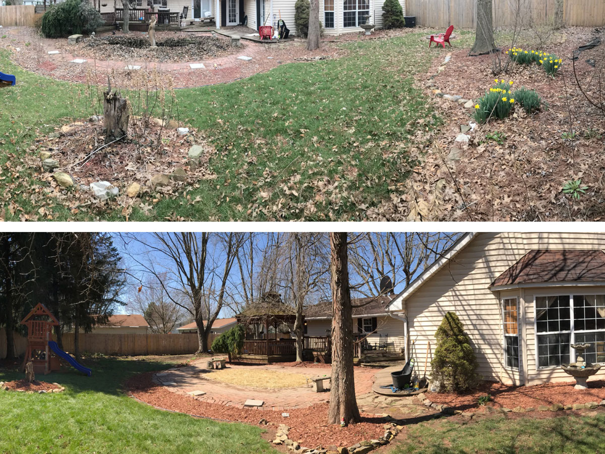 Aplus Lawncare Landscaping Yard Cleanup