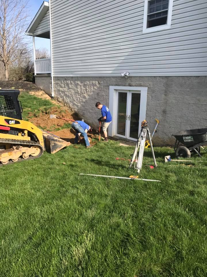 Hardscape Patio Paver Installation 1