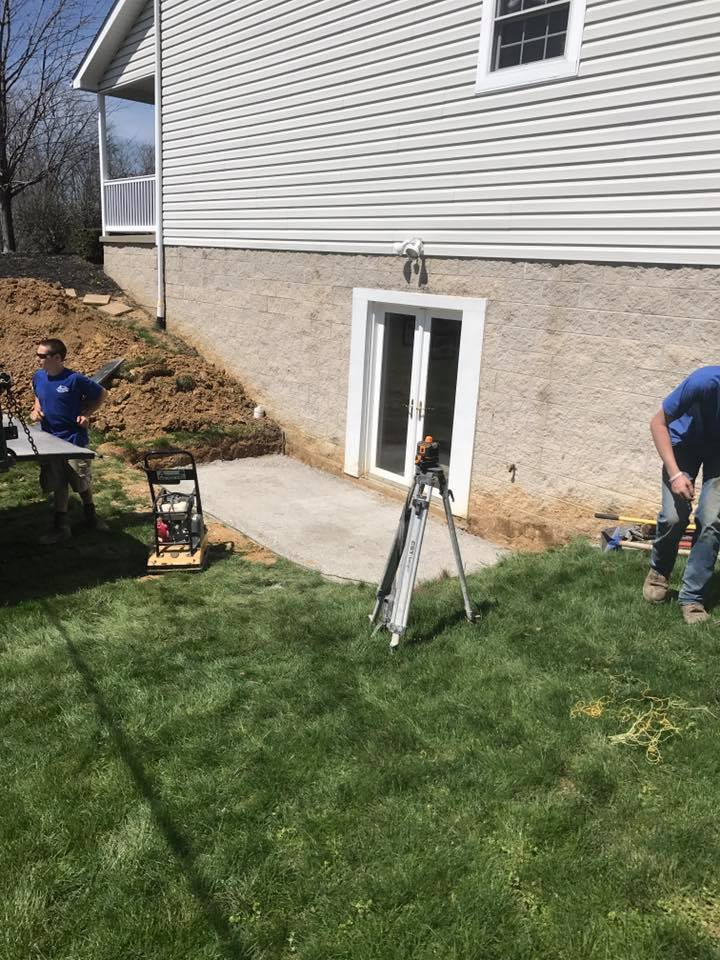 Hardscape Patio Paver Installation 3