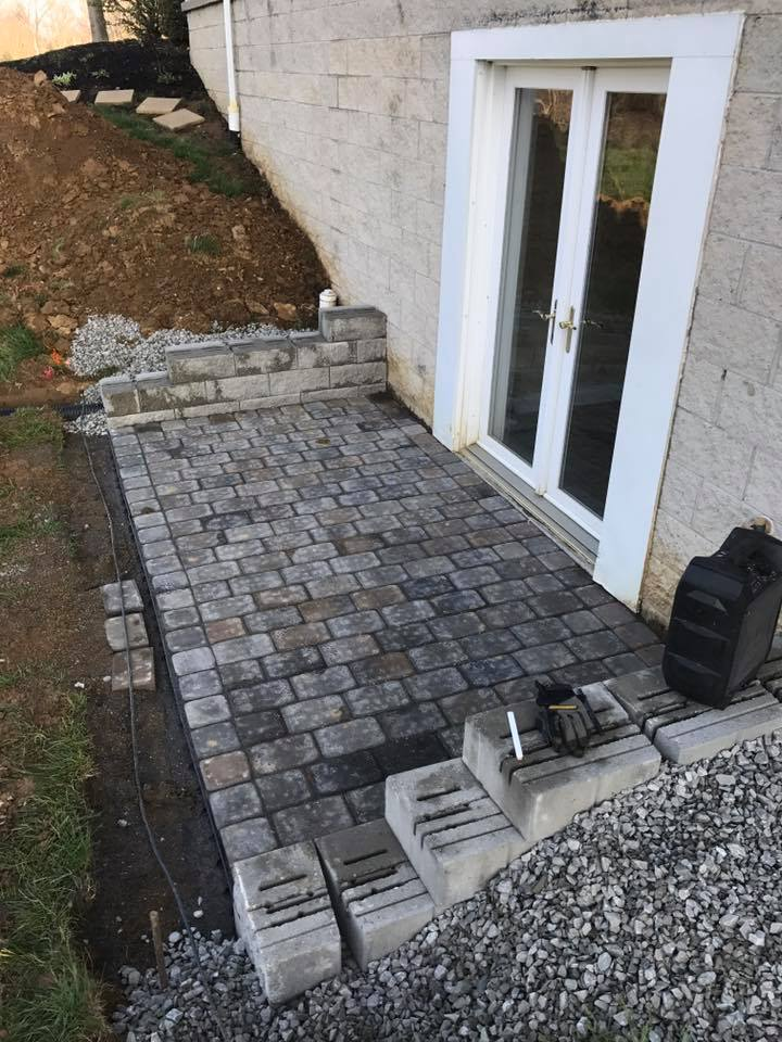 Hardscape Patio Paver Installation 4