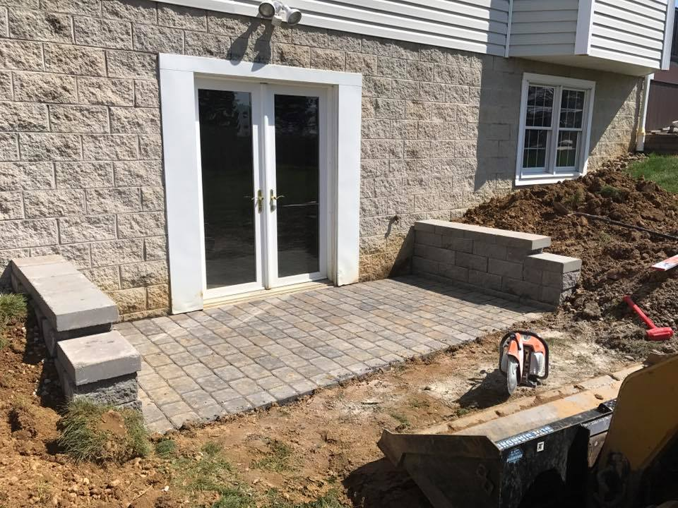 Hardscape Patio Paver Installation 5